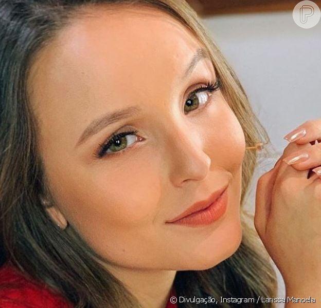 Larissa Manoela falou sobre assuntos de sua vida íntima em entrevista