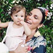 Ivete Sangalo filma marido incentivando as filhas ao brincar: 'Levanta, mulher'