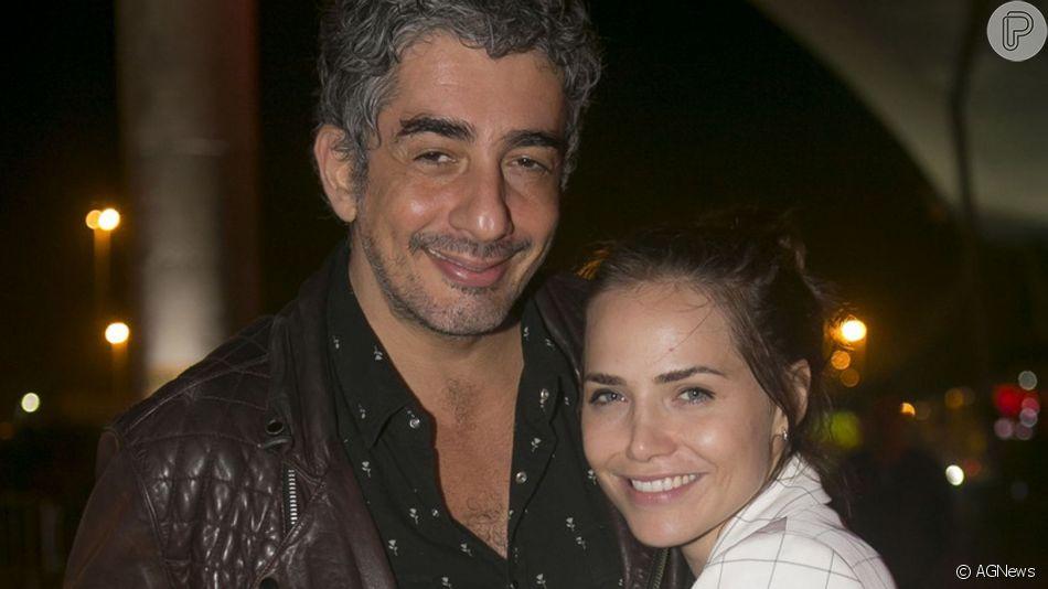Leticia Colin e Michel Melamed estão esperando o primeiro filho