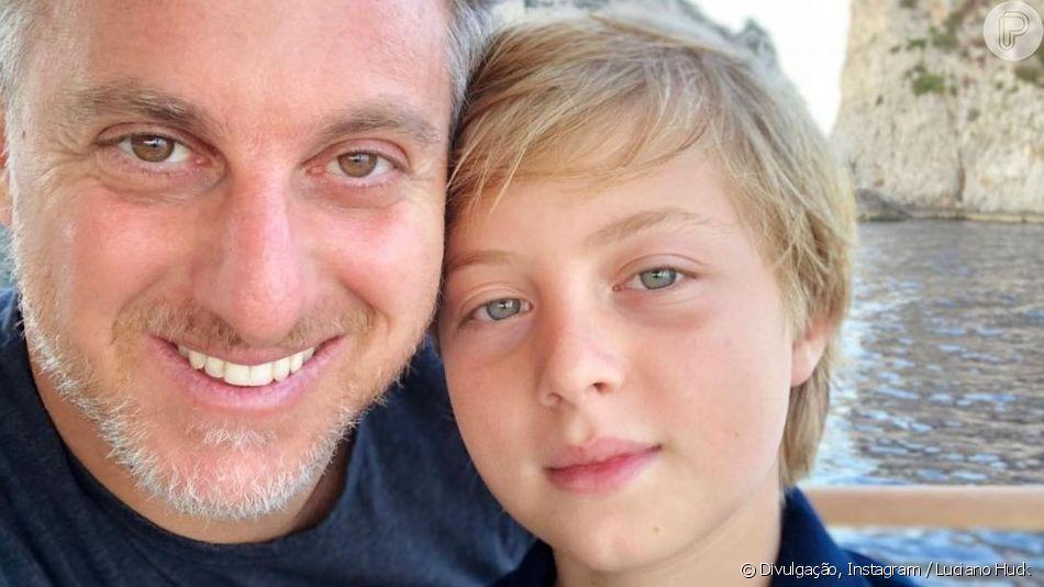 Luciano Huck relembra acidente com o filho Benício no 'Caldeirão', em 29 de unho de 2019