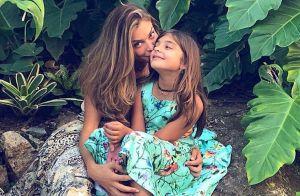 Grazi Massafera surge com a filha, Sofia, e surpreende fãs: 'Como cresceu'