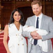 Meghan Markle e Harry seguem tradição real em batizado do primeiro filho