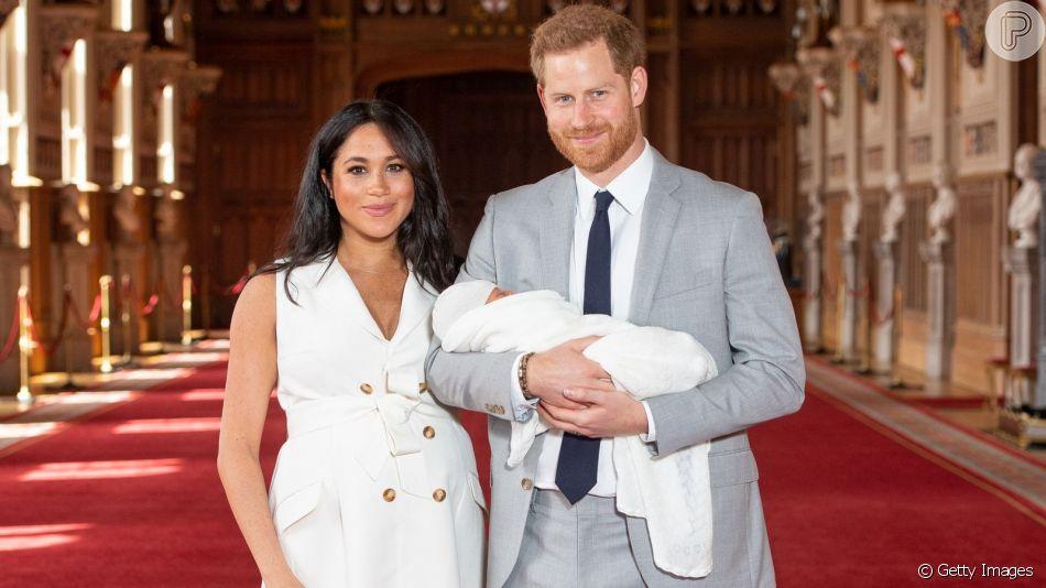Meghan Markle e Harry celebram o batizado do primeiro filho, Archie Mountbatten-Windsor, na manhã deste sábado, dia 06 de julho de 2019
