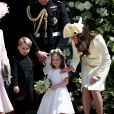 Príncipe George também participou do casamento do tio, Príncipe Harry, com Meghan Markle