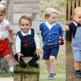 Príncipe George não perdeu o jeito curioso e a expressivo com o passar dos anos