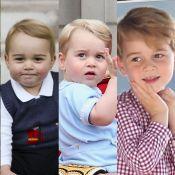 Sempre expressivo, Príncipe George faz 6 anos. Relembre crescimento em 40 fotos!