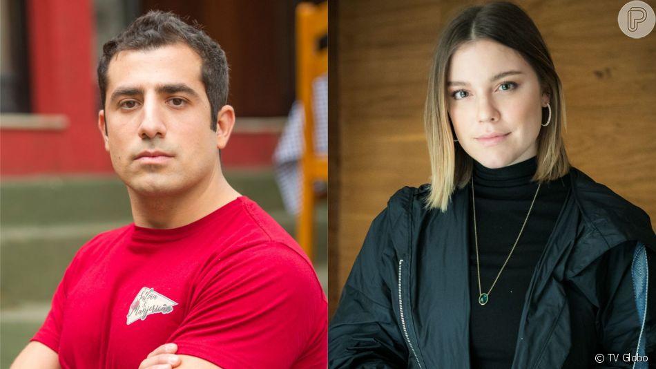 Dalila (Alice Wegmann) revela que Fauze (Kaysar Dadour) é seu irmão na novela 'Órfãos da Terra'
