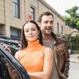 Vivi (Paolla Oliveira) e Chiclete (Sérgio Guizé) começam a namorar na novela 'A Dona do Pedaço'