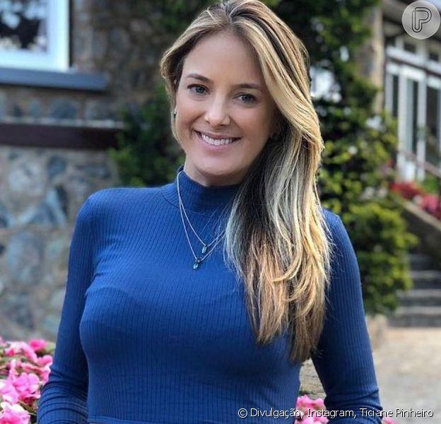 Ticiane Pinheiro é comparada com filha em foto antiga publicada nesta quinta-feira, dia 18 de julho de 2019