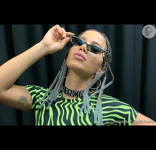 Anitta se apresenta no Festival Tomorrowland, na Bélgica, em 27 de julho de 2019