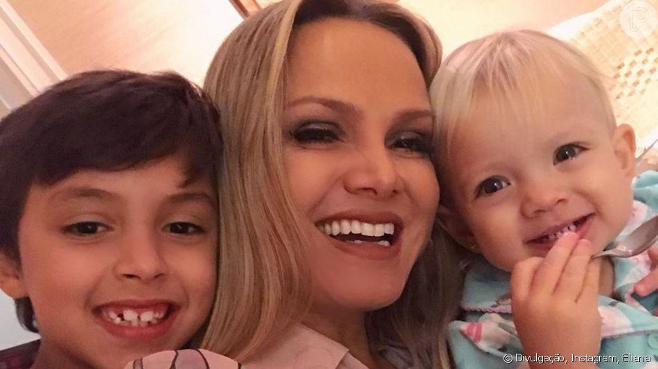 Eliana leva filhos, Arthur e Manuela, em passeio por fábrica de chocolate nesta quinta-feira, dia 01 de julho de 2019