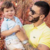 Filho de Gusttavo Lima, Gabriel emociona o pai ao cantar 'Milu': 'Que momento'