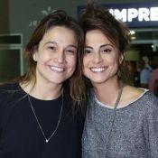 Fernanda Gentil curte 1º show de Sandy e Junior com a mulher: 'Momento marcante'