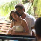 Agatha Moreira e Rodrigo Simas fotografam campanha fashion em clima de romance