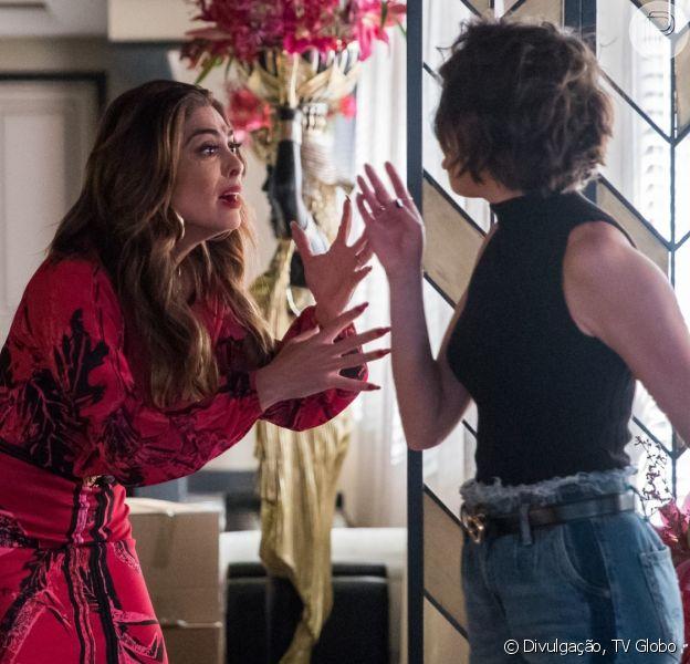 Josiane (Agatha Moreira) irá planejar mais um golpe contra Maria da Paz (Juliana Paes) nos próximos capítulos de 'A Dona do Pedaço'
