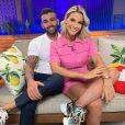 Andressa Suita adora acompanhar o marido, Gusttavo Lima, nos bastidores de show