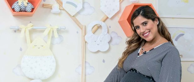 Camilla Camargo escolhe quarto com tema Universo para o filho, Joaquim. Fotos!