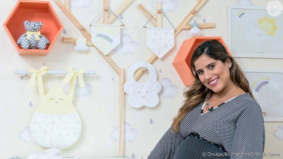 Camilla Camargo escolhe quarto com tema Universo para o filho, Joaquim. Veja fotos divulgadas nesta sexta-feira, dia 16 de outubro de 2019