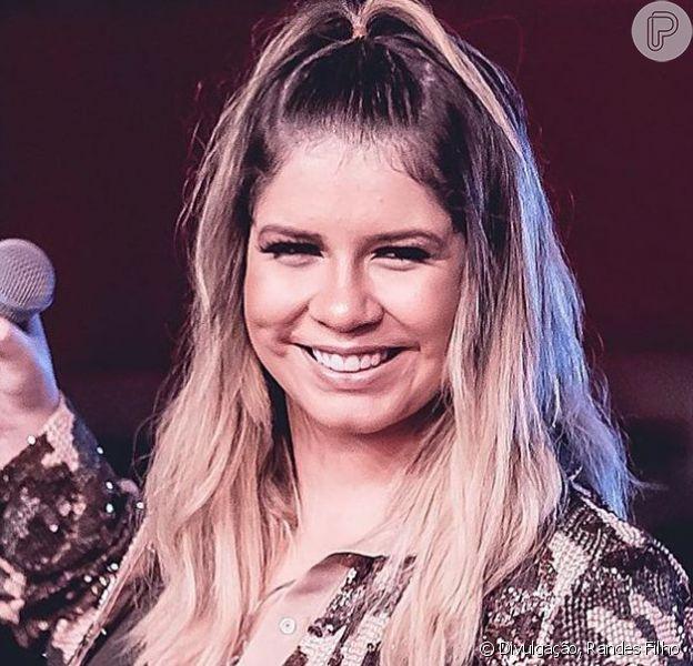 Marilia Mendonça mostrou para os fãs a primeira música que fez para o filho, Léo