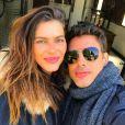 Mariana Goldfarb e Cauã Reymond estão casados desde abril