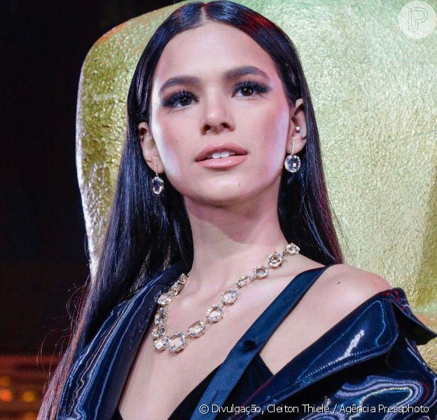 Bruna Marquezine se emociona ao fazer discurso sobre estreia no cinema nesta segunda-feira, dia 19 de agosto de 2019