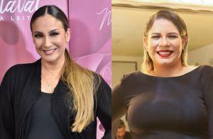 Claudia Leitte exibe rostinho da filha e Marilia Mendonça elogia: 'Princesa'