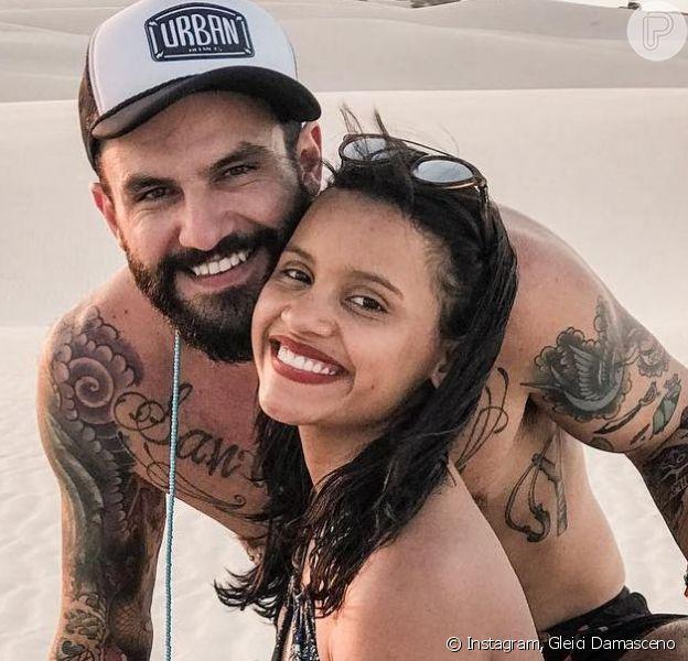 Ex-BBB Gleici Damasceno reatou namoro com Wagner Santiago