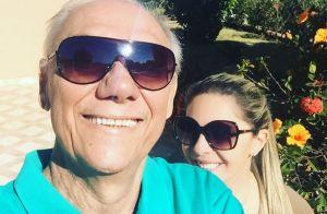 Viúva de Marcelo Rezende faz nova homenagem ao jornalista:'Ainda escuto sua voz'