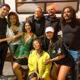 Mileide Mihaile participou da entrega do Prêmio Proclamation à Margareth Menezes