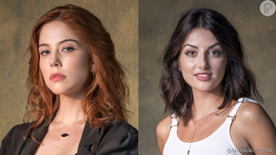 Nova cena de beijo de Valéria (Bia Arantes) e Camila (Anaju Dorigon) na novela 'Órfãos da Terra' foi escrita pelas autoras, Duca Rachid e Thelma Guedes