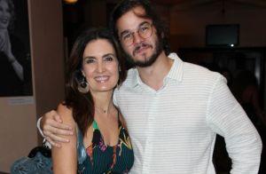 Túlio Gadêlha mostra foto de quando era criança e Fátima Bernardes elogia. Veja!