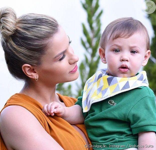 Andressa Suita revela 'mania' do filho Samuel, em 22 de setembro de 2019