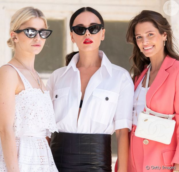 O street style da Semana de Moda de Paris está cheio de tendências de verão para se inspirar!