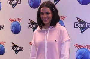 No RIR, Marquezine revela desejo de lançar linha de roupas: 'Peças básicas'