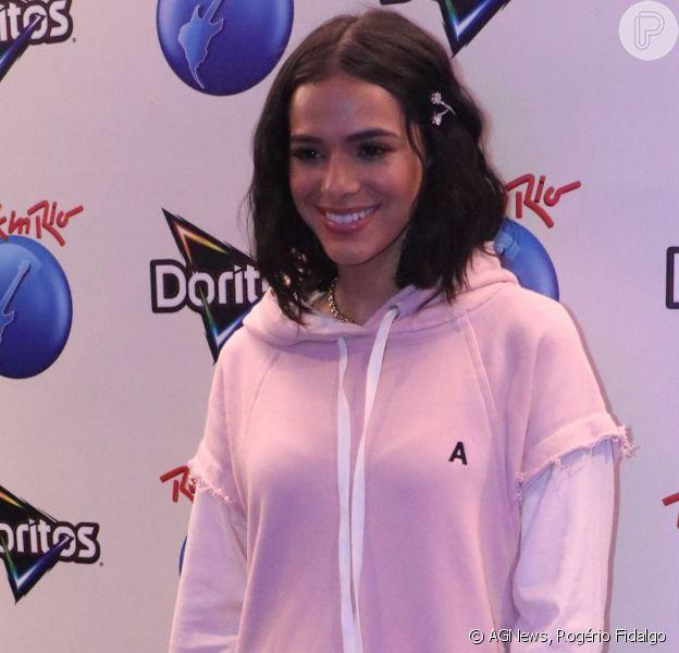 Bruna Marquezine revela desejo de lançar linha de roupas, em 6 de outubro de 2019
