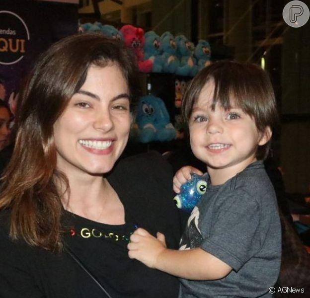 Bruna Hamu, Yanna Lavigne e mais famosos levaram filhos para conferirem o espetáculo 'Turma da Mônica Brasilis', no teatro Bradesco, nesta quinta-feira, 10 de outubro de 2019