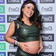 Andressa Ferreira está grávida de 7 meses