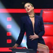 'The Voice': Claudia Leitte brinca ao seduzir candidato. 'Decote no umbigo'