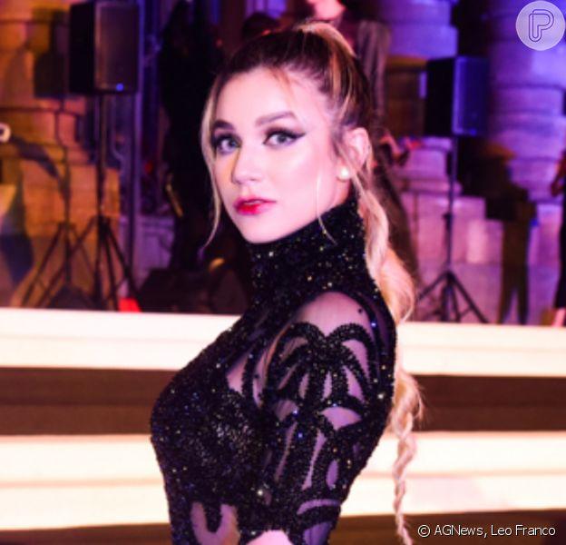 Bruna Santana marca presença em baile de Halloween promovido pela Sephora, no Teatro Municipal de São Paulo, na noite desta quinta-feira, 17 de outubro de 2019
