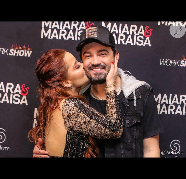 Maiara conta que tênis dado a Fernando Zor não tem localizador em entrevista ao 'Se Joga' nesta sexta-feira, dia 18 de outubro de 2019