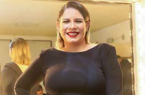 Grávida, Marília Mendonça filma Léo se mexendo na barriga: 'Peixinho'. Vídeo!