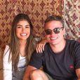 Munik Nunes e Anderson Felício estavam juntos desde julho de 2016