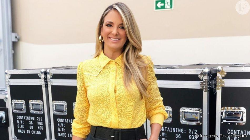 Ticiane Pinheiro mostrou as filhas Rafaella Justus e Manuella fantasiadas para Halloween nesta quinta-feira, 31 de outubro de 2019