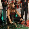 Susana Vieira dança funk ao lado de David Brazil durante show de Valesca Popozuda após ser coroada rainha de bateria da Grande Rio, em 17 de outubro de 2014