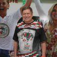 Boni marcou presença na coroação de Susana Vieira e David Brazil