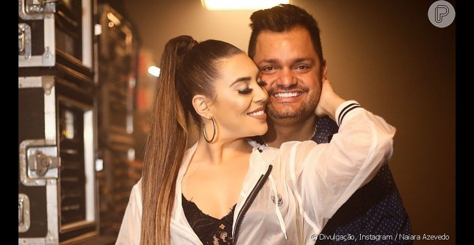 Naiara Azevedo surge ao lado do marido em foto durante viagem a Dubai, em 2 de novembro de 2019