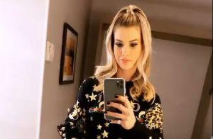 Andressa Suita elege novo look Gucci para show de Gusttavo Lima nos EUA