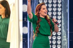 Paolla Oliveira surge em novela com look usado por cantora Maiara. Aos detalhes!