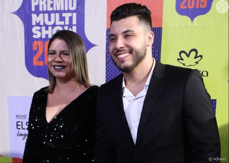 Marília Mendonça espera o primeiro filho com o sertanejo Murilo Huff