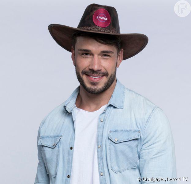 'A Fazenda 11': Lucas Viana tocou o sino do reality, mas vai seguir na competição. Entenda!